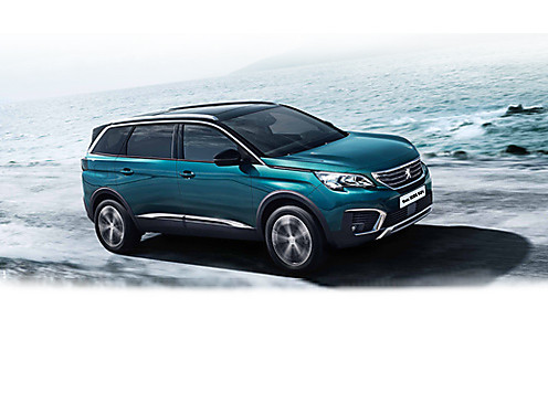 Peugeot New 5008 SUV Allure in Emerald