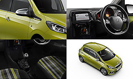 Peugeot 108 Collection in Green Fizz