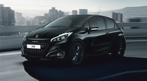 Peugeot 208 Black Edition with Just Add Fuel