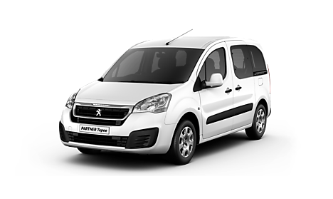 Peugeot Partner Tepee Active Exterior in Bianca White