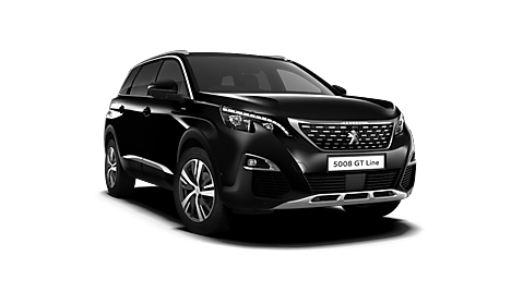 Peugeot New 5008 SUV GT Line Exterior in Nera Black