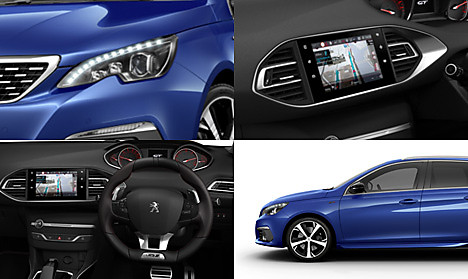 Peugeot New 308 SW GT Collage