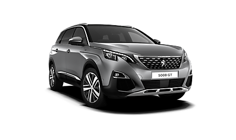 Peugeot New 5008 GT Exterior in Cumulus Grey