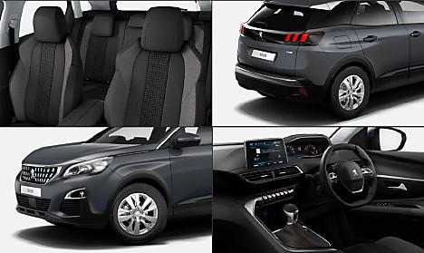 Choose Trim Configure Peugeot New Suv Peugeot Uk