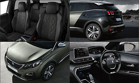 Choose Trim Configure Peugeot New Suv Peugeot Uk