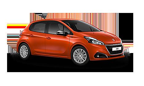 Peugeot 208 Signature in Orange Power