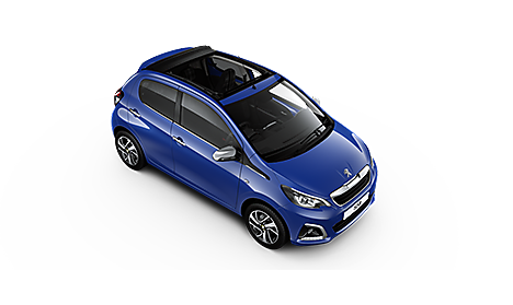 Peugeot 108 TOP! Allure in Calvi Blue