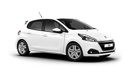 Peugeot 208 Active in Bianca White
