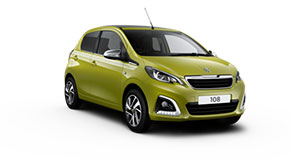 Peugeot Just Add Fuel - Peugeot 108 TOP!