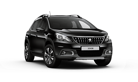Peugeot 2008 SUV Allure Premium in Nera Black
