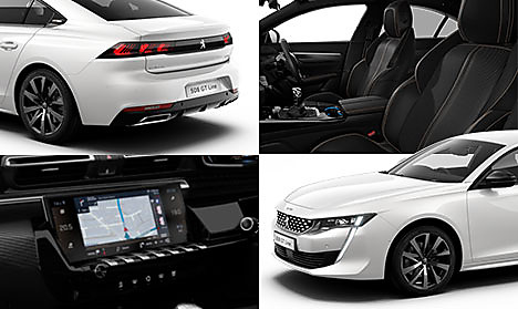 Peugeot All New 508 GT Line